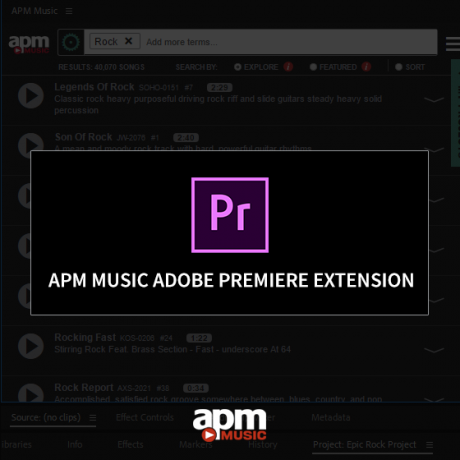 Adobe Premiere Extension