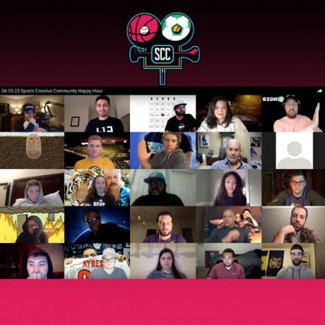 Sports Creative Slack Channel Happy Hour Panel