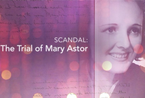 Scandal: The Trial of Mary Astor
